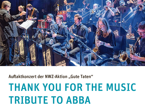 THANK YOU FOR THE MUSIC – TRIBUTE TO ABBA